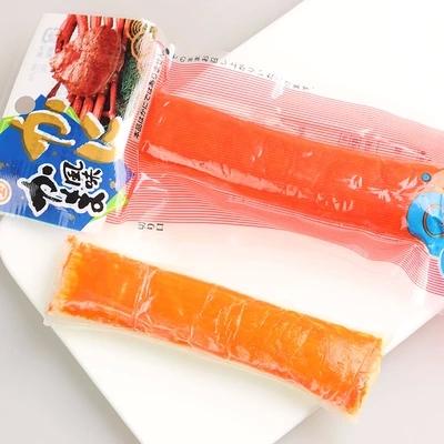 日本进口零食品 水产蟹肉棒 即食长脚蟹肉卷蟹柳蟹腿寿司网红蟹柳