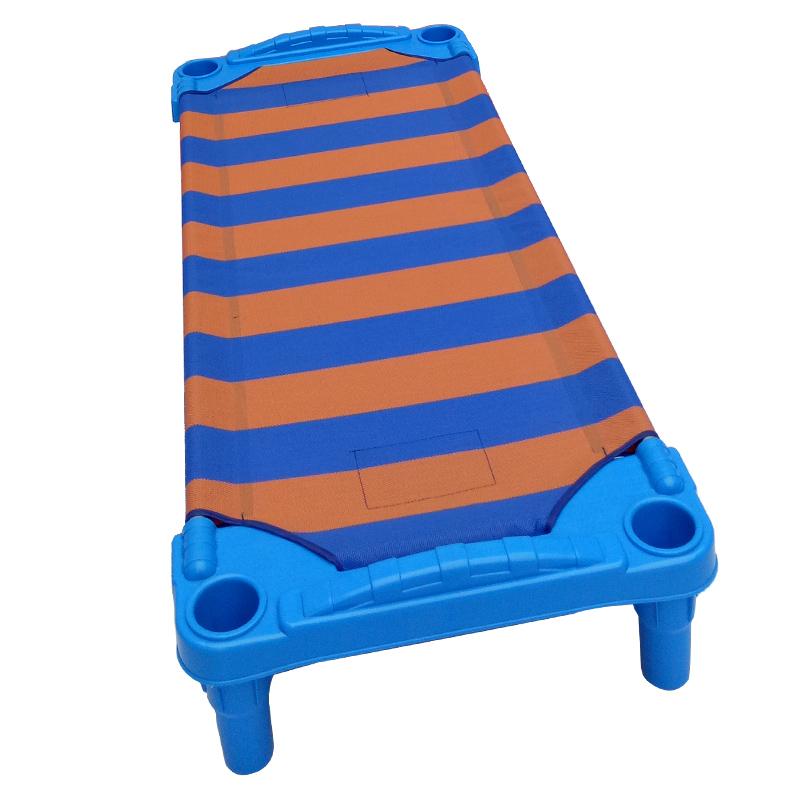 厂家直销幼儿园儿童帆布床 宝宝午睡床 叠叠床宝宝托管床单人床