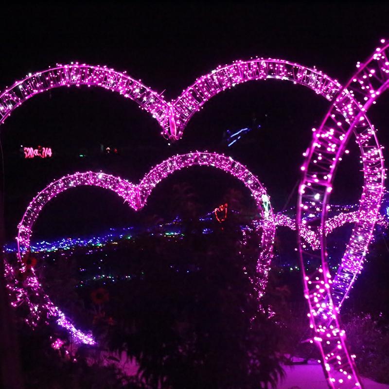梦幻灯光节时光隧道专用灯串led彩灯闪灯串灯满天星星灯婚庆装饰