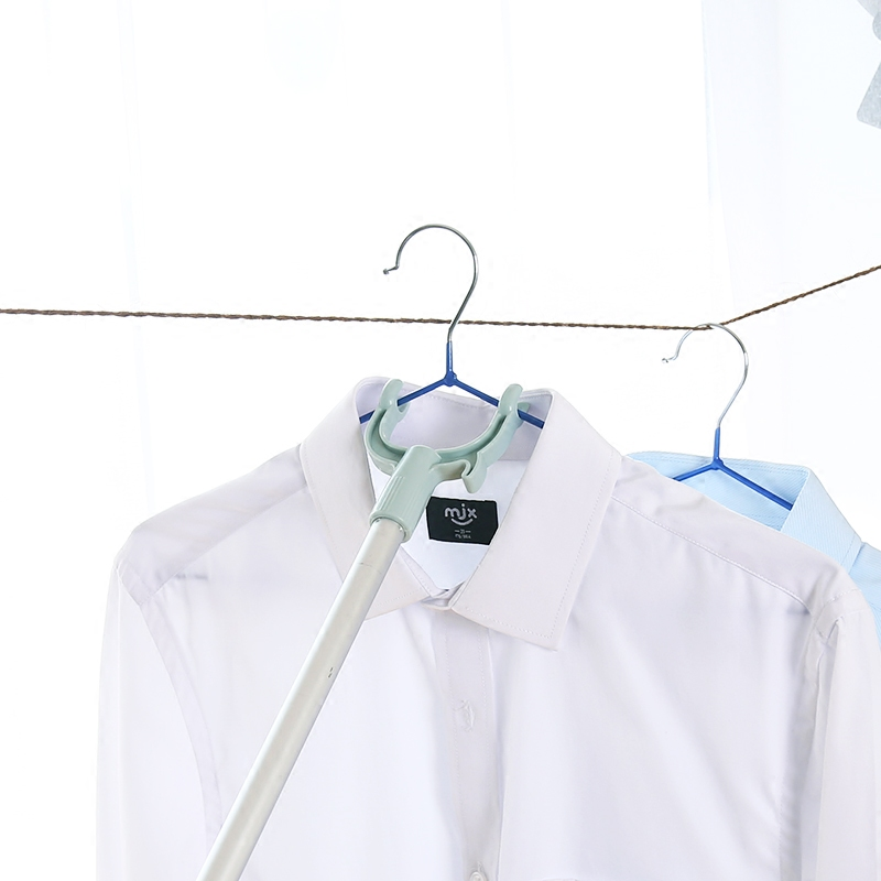可伸缩晾衣杆撑衣杆衣叉挑衣取衣竿家用晾衣服杆子晾衣撑撑衣架杆
