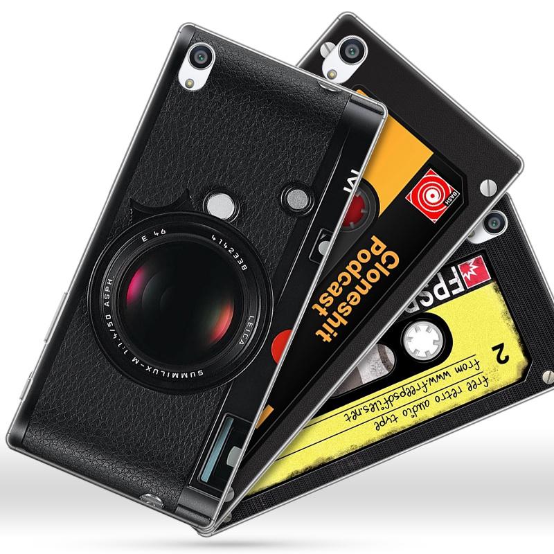 索尼z5手機殼Xperia Z5卡通外殼E6683硬殼Sony z5個性保護套5.2寸