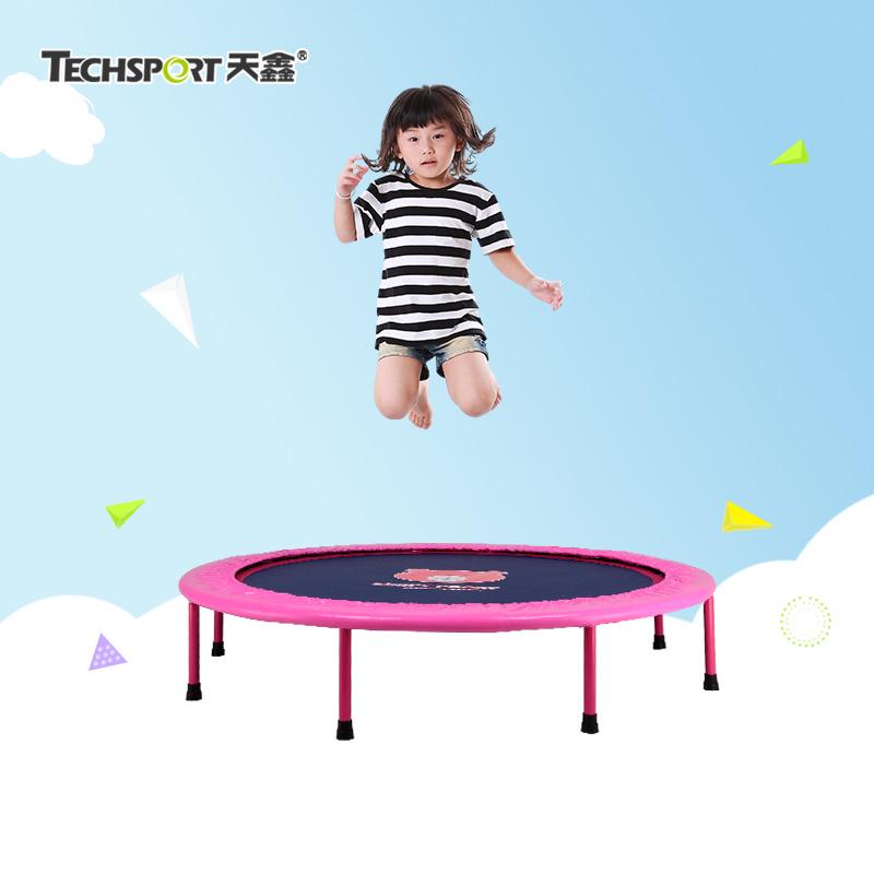 天鑫跳跳床室內摺疊蹦床 兒童蹦床家用 兒童笨豬跳跳床彈力繩彈簧床