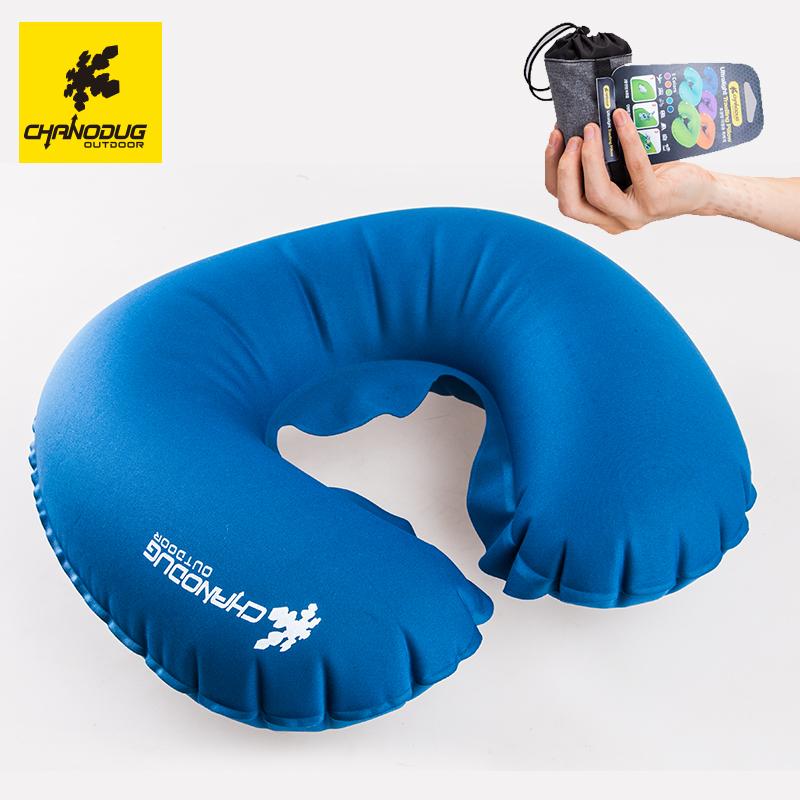 充氣u型枕 便攜旅行護頸枕 戶外U形枕旅遊睡枕飛機枕 護脖枕靠枕