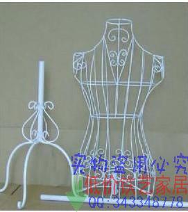 包邮衣架 服装架 铁艺女装模特架全身半身 欧美田园韩国衣服模特