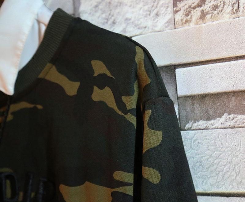 sundipy秋装新款男士个性韩版日系青年上衣迷彩套头卫衣潮流男装