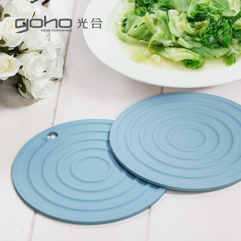 光合盛世 矽膠隔熱墊 防滑墊鍋墊碗墊 多功能餐墊矽膠墊大尺寸