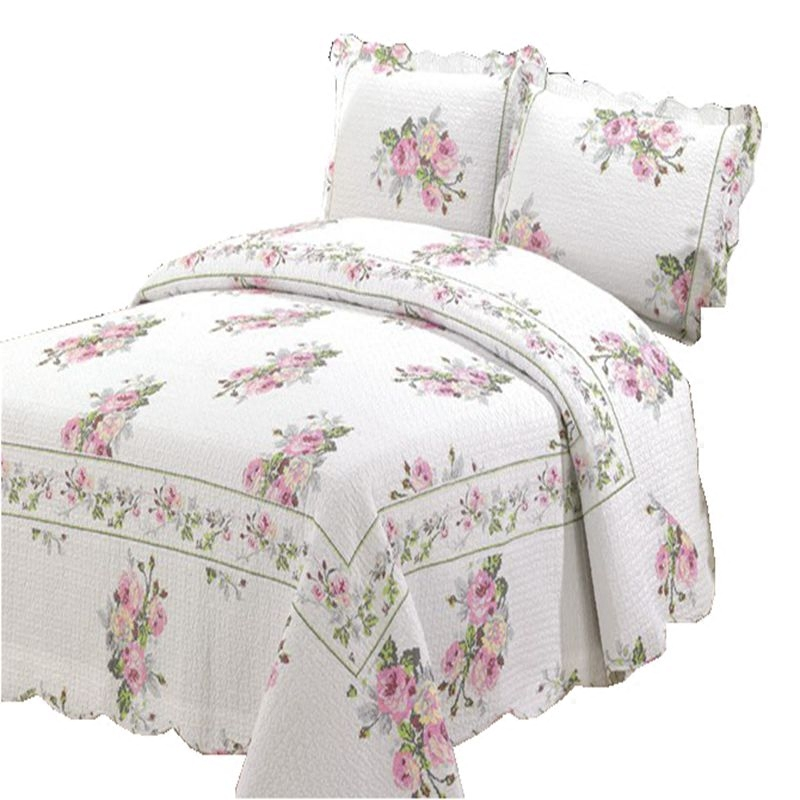 家纺三件套床单床盖全棉公主婚庆床上用品两件套床品空调被包邮