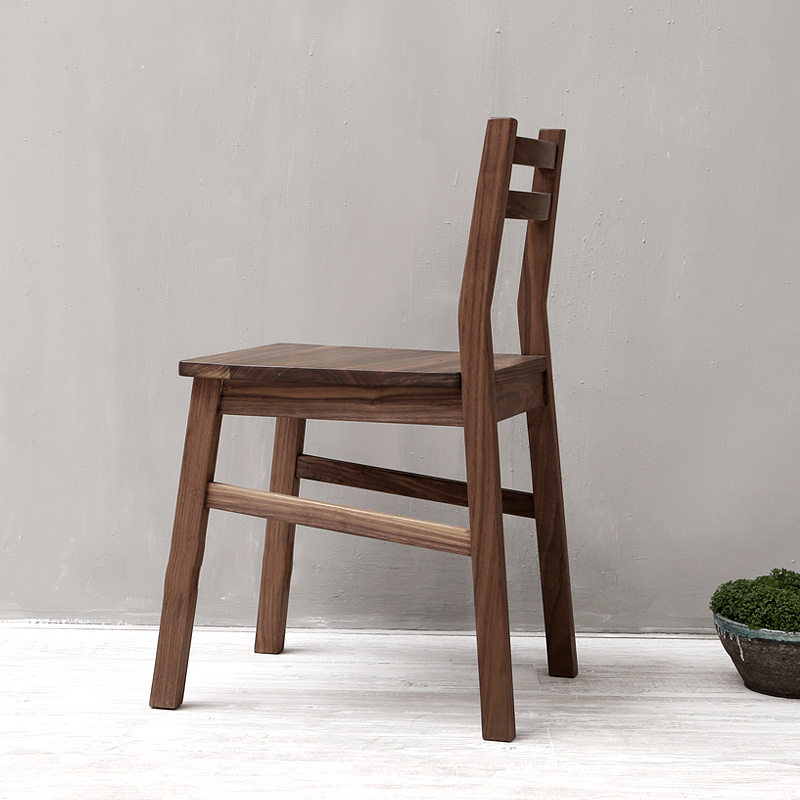Buy Ailvju Oak Black Walnut Wood Furniture Wood Dining Chair Office