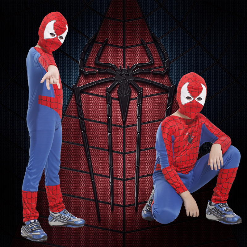 Buy Amazing spiderman halloween costume cosplay tights suit masquerade costumes clothes and young children park in Cheap Price on m.alibaba.com & Buy Amazing spiderman halloween costume cosplay tights suit ...