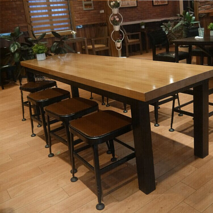 Buy American Starbucks Table Wrought Iron Wood Bar Stool Bar Stool Bar Stool Bar Stool High Chair Dining Chairs Chairs Chairs Office Conference Table In Cheap Price On M Alibaba Com