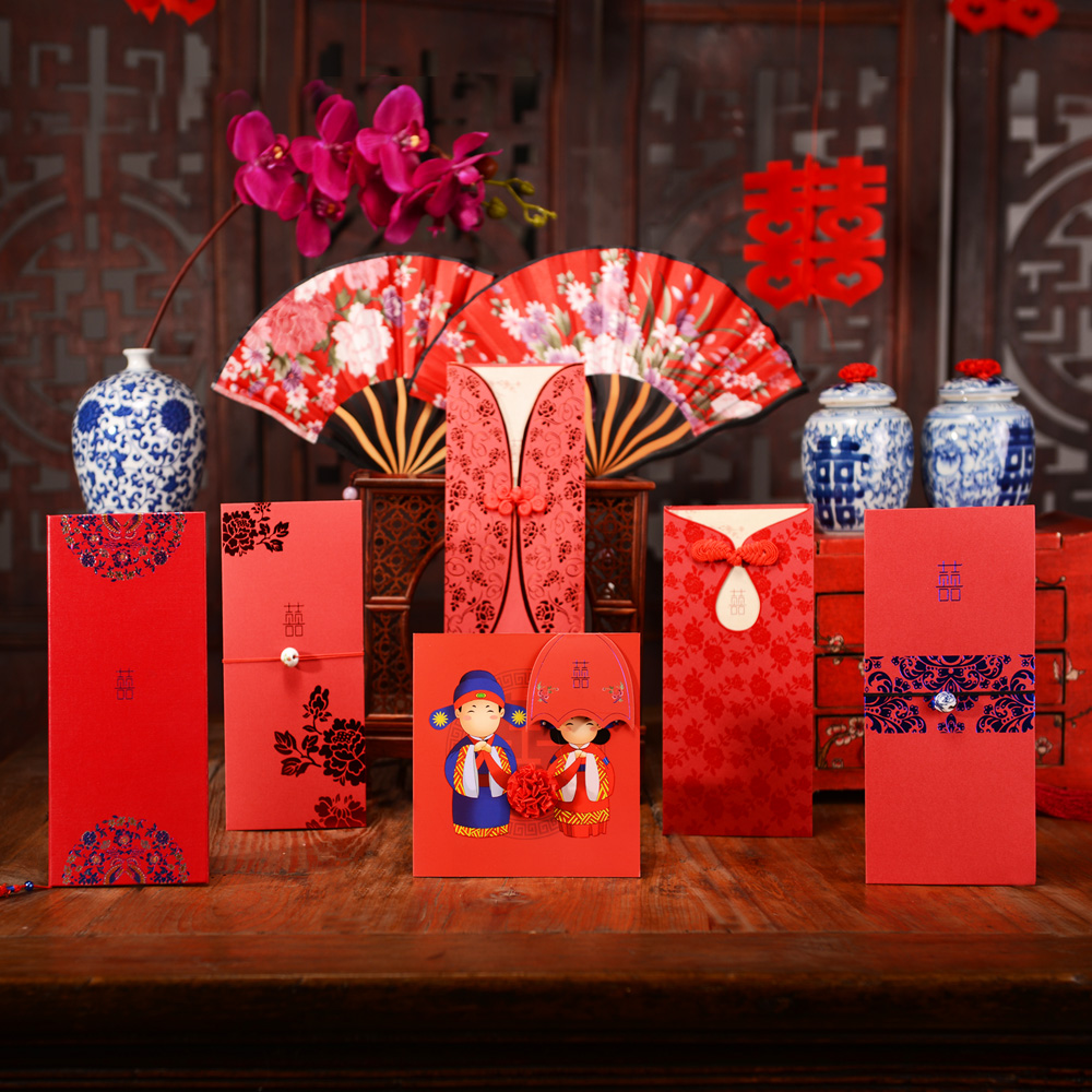 Buy Amidst the collection of dragon and phoenix wedding invitations ...