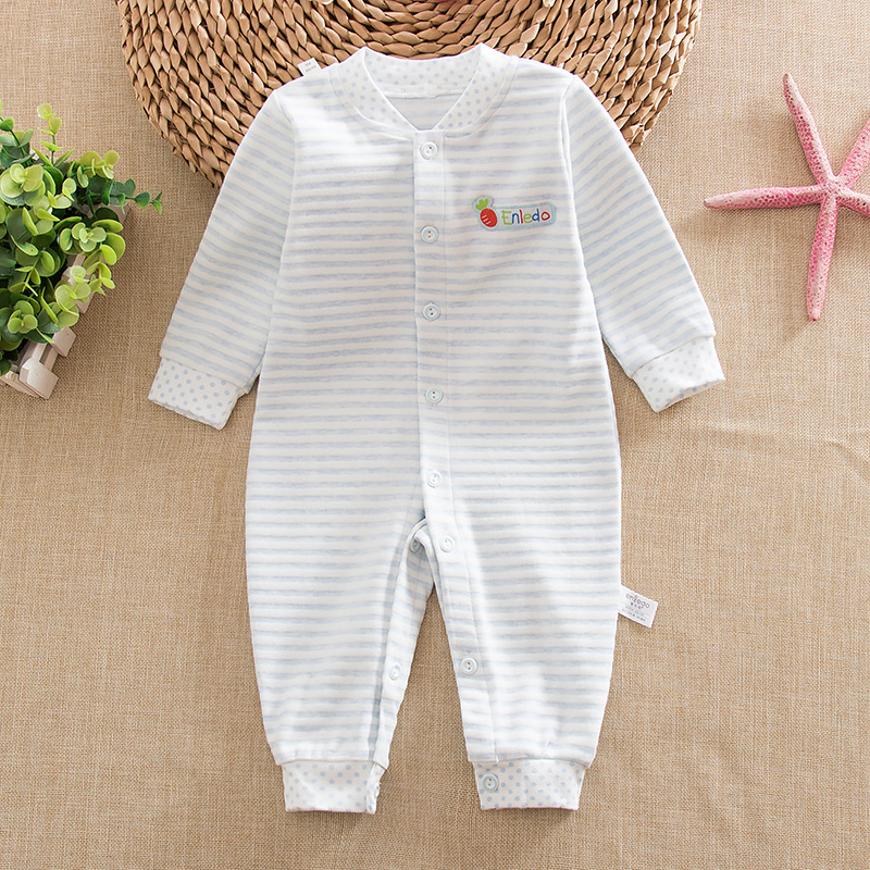 08752f3a7 Buy Infant baby siamese romper climbing clothes in spring and autumn ...