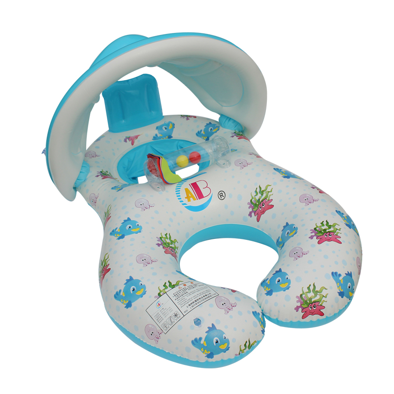 acf2ca3c278 Buy Baby armpit circle of children sitting on laps lifebuoy ring mother  mother baby awning double hot springs swimming laps thicken in Cheap Price  on ...