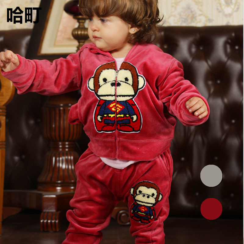 c0ea8a2f8406 Buy People at the beginning of 0-4-year-old suit infant baby cotton ...