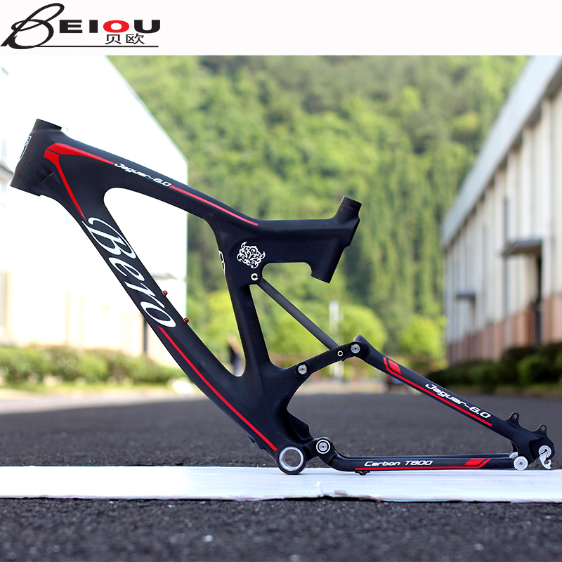 Buy Beiou light carbon fiber frame mountain bike downhill bike 26 ...