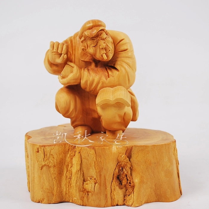 Buy boxwood carving wood carving crafts ornaments home car