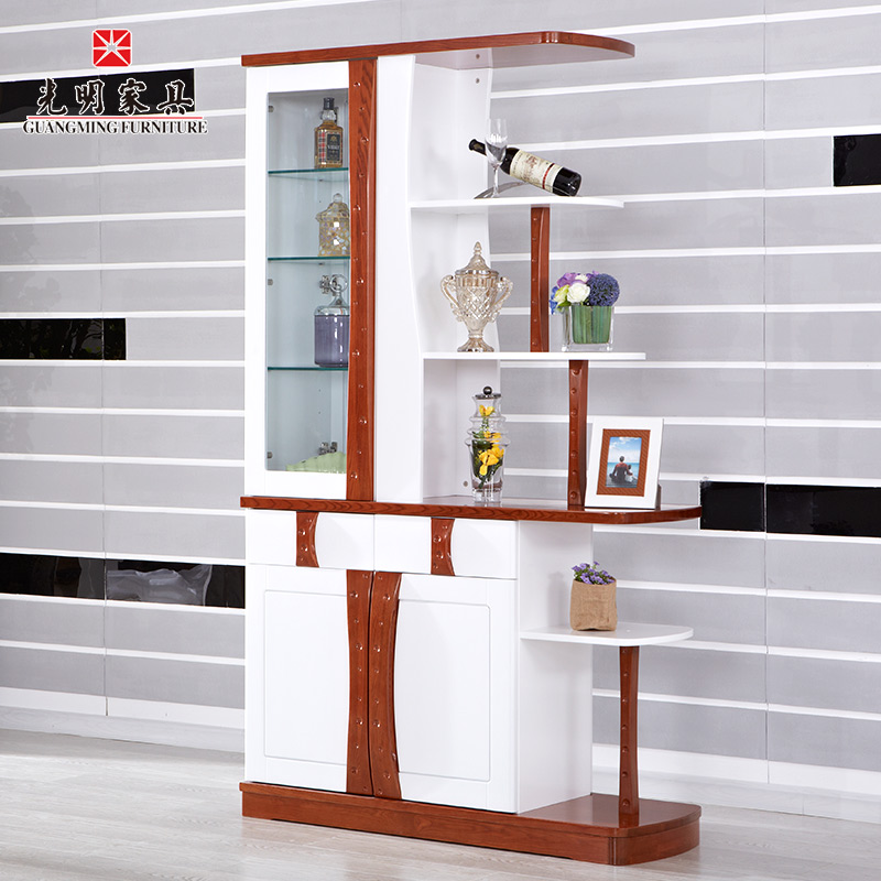Buy Bright Furniture Entrance Hall Cabinet Shoe Simple And Stylish Living  Room Cabinet Wood Wine Cabinet Partition Between The Cabinet Office In  Cheap Price ...
