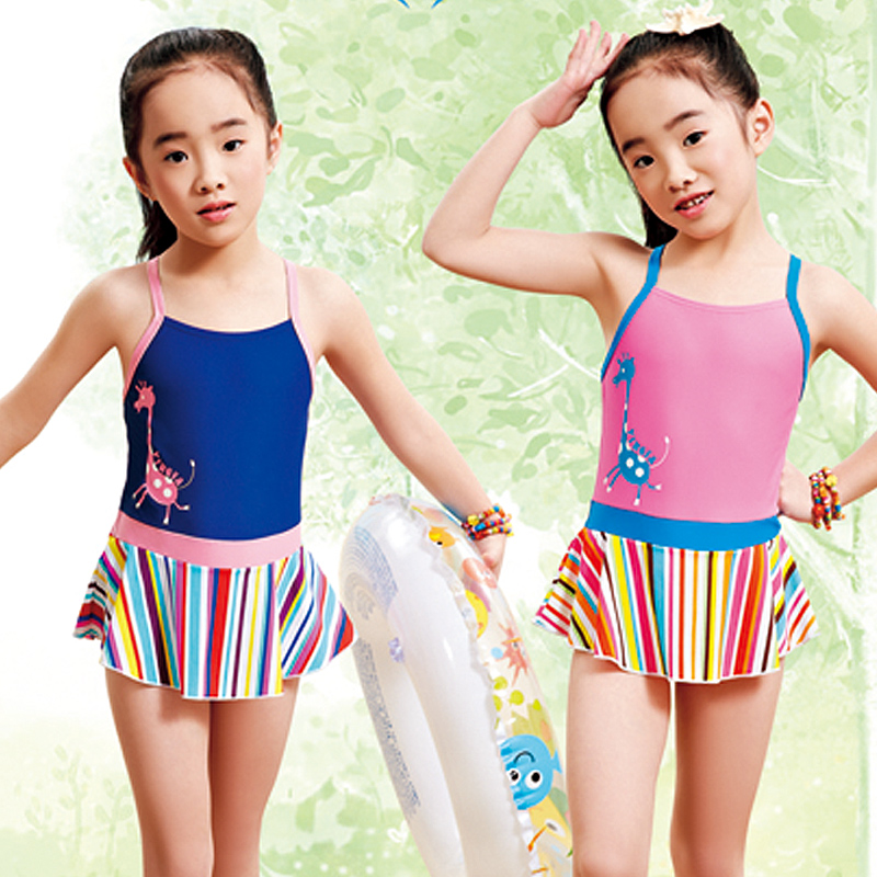 c7ed685a5e Buy British made 2016 new small girls striped skirt piece swimsuit children  swimwear cute baby print beach swimsuit in Cheap Price on m.alibaba.com