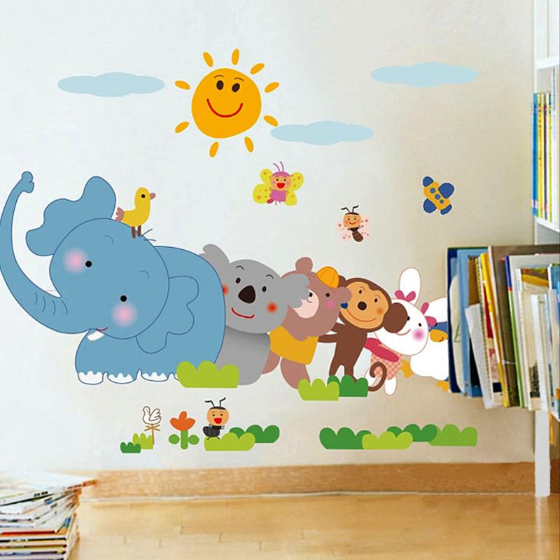 buy cheap cartoon wall stickers children's room bedroom
