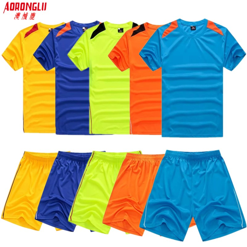 size 40 24495 db32e Buy Children kids soccer jersey football jersey male suit ...