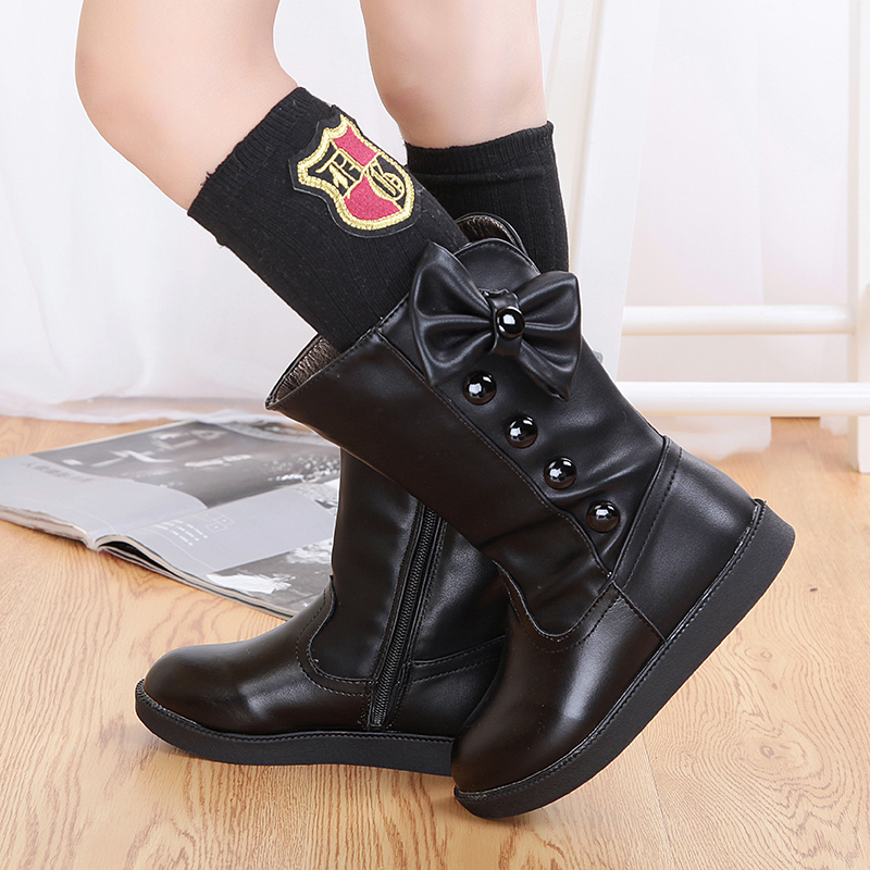 Buy Children snow boots girls shoes big
