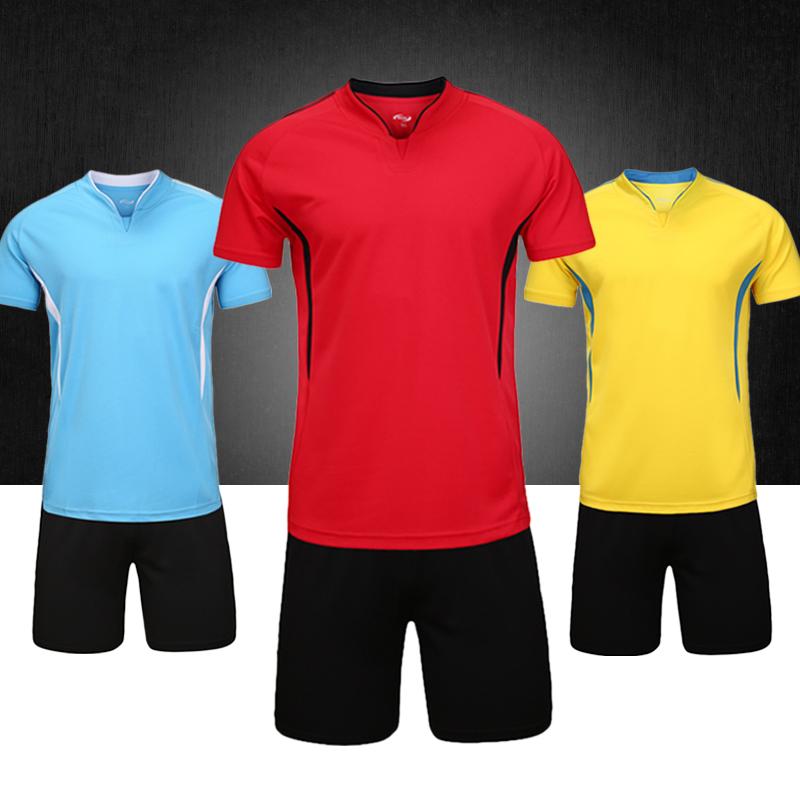 c63cef9b3b Buy Children's football clothes suit summer men short sleeve ...