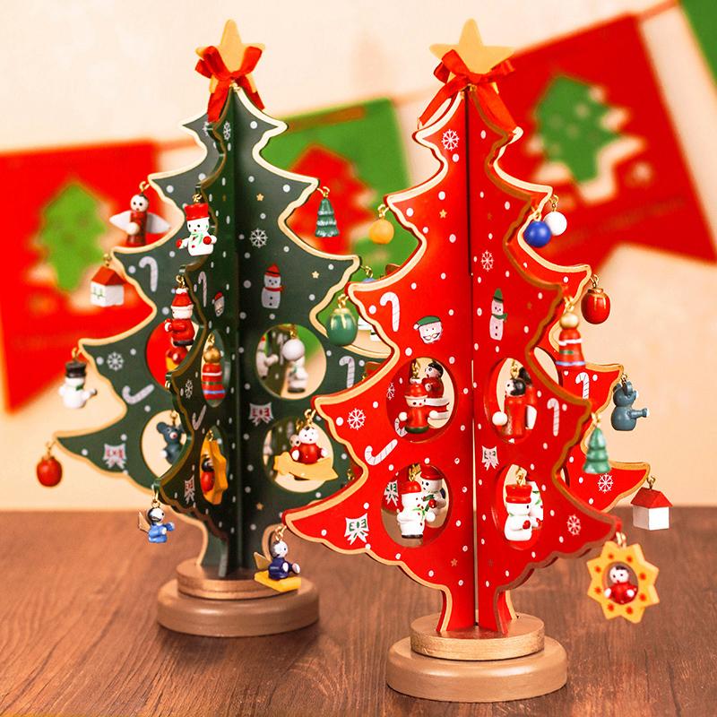Buy Christmas Decorations Creative Desktop Wooden Crafts Wooden