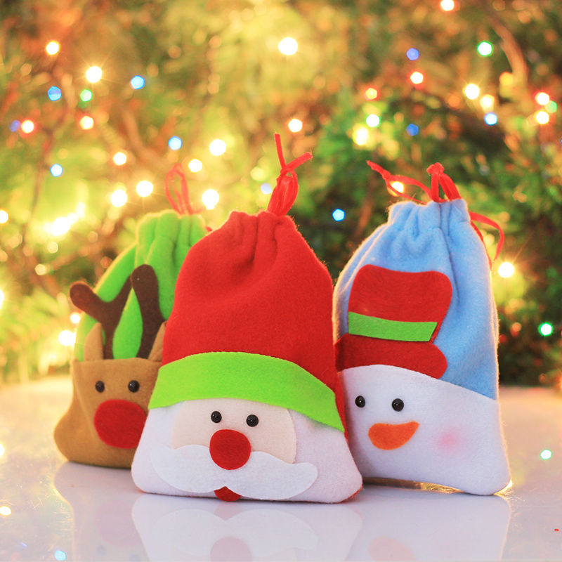 Buy Christmas Supplies Christmas Santa Claus Gift Bag Apple Christmas Christmas Candy Bags Candy Bags Christmas Supplies In Cheap Price On M Alibaba Com