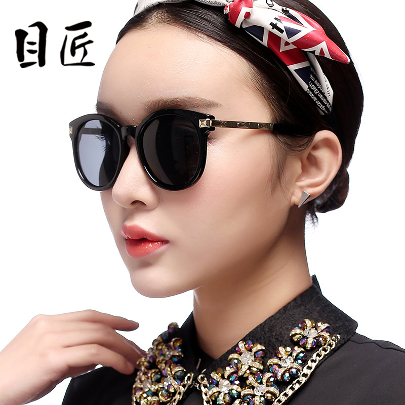 33520790db Buy Color film polarized sunglasses female tide big box retro sunglasses  polarized sunglasses drivers driving mirror sunglasses with a degree of  myopia in ...