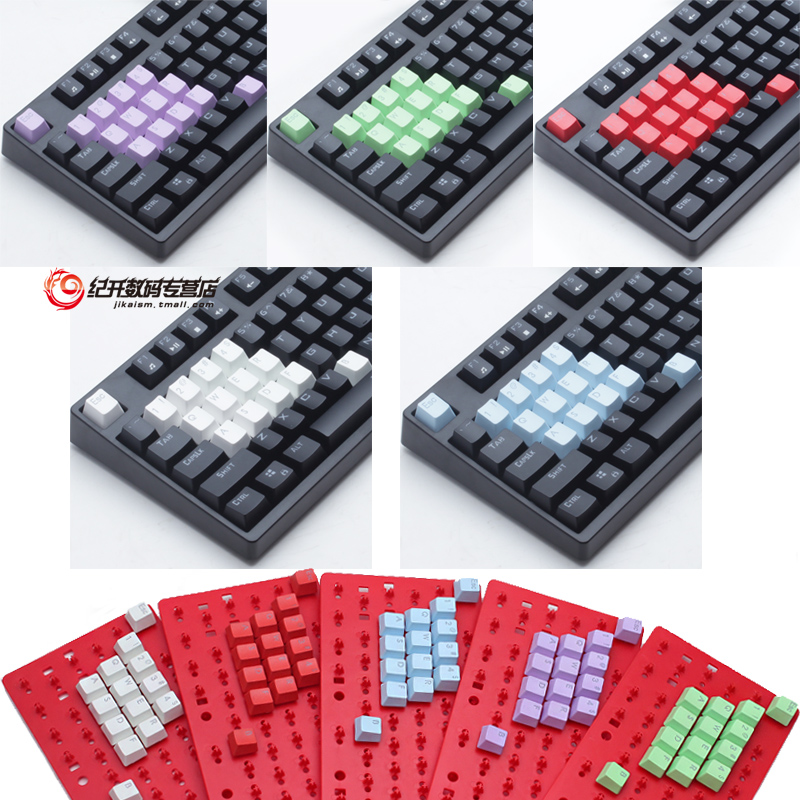 Buy Color pbt keycaps rainbow backlit translucent keycap