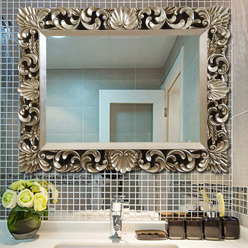 Buy Continental Square Hotel Salon Bathroom Mirror Decorative Mirror Bathroom Mirror Vanity Mirror Bathroom Mirror Baroque In Cheap Price On M Alibaba Com