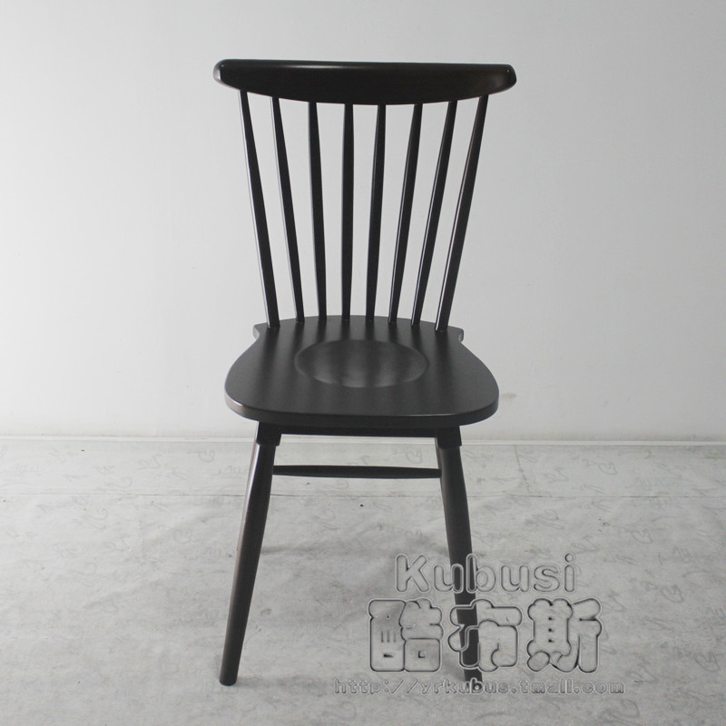 Buy Cool Booth Windsor Chair Dining Chair Dining Chairs Modern Minimalist  Black Hospitality Chair Chair Wood Chair Lounge Chair Living Room Room With  Combo ...