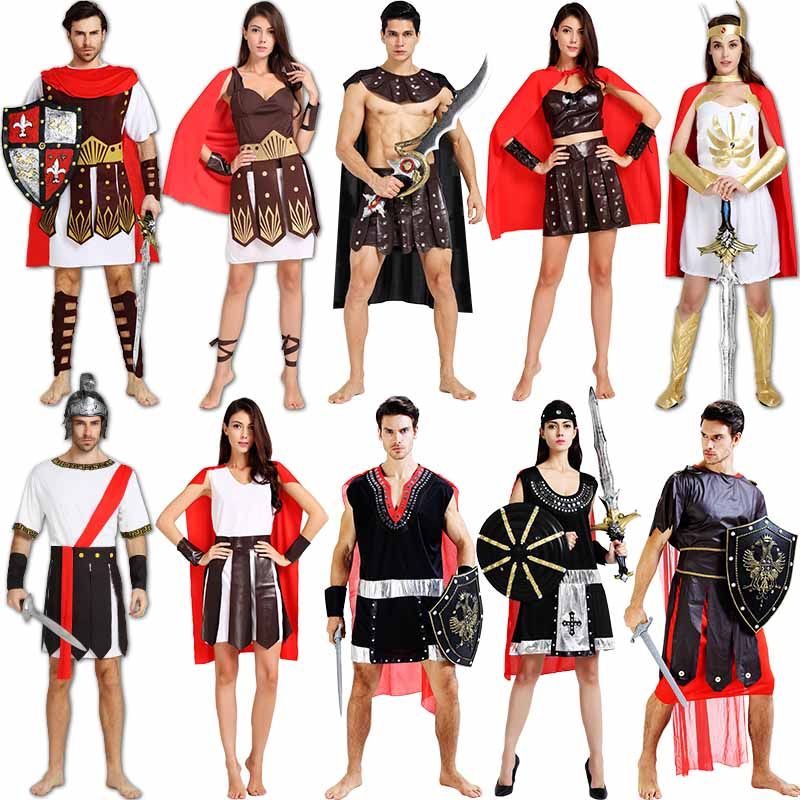 Cos halloween costume roman warrior costume adult costumes for men and women sparda crusaders party dress  sc 1 st  Alibaba & Buy Halloween costumes female sparda ancient roman soldiers cos ...