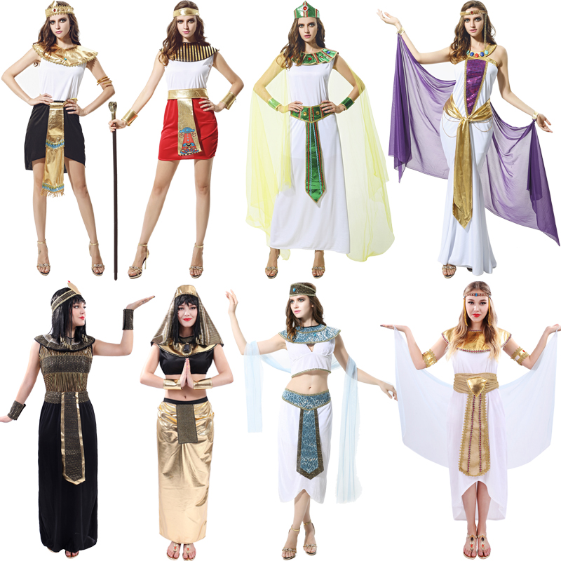 Buy Cos Masquerade Costume Egyptian Pharaoh Queen Cleopatra Costume  Halloween Costumes For Adults In Cheap Price On M.alibaba.com