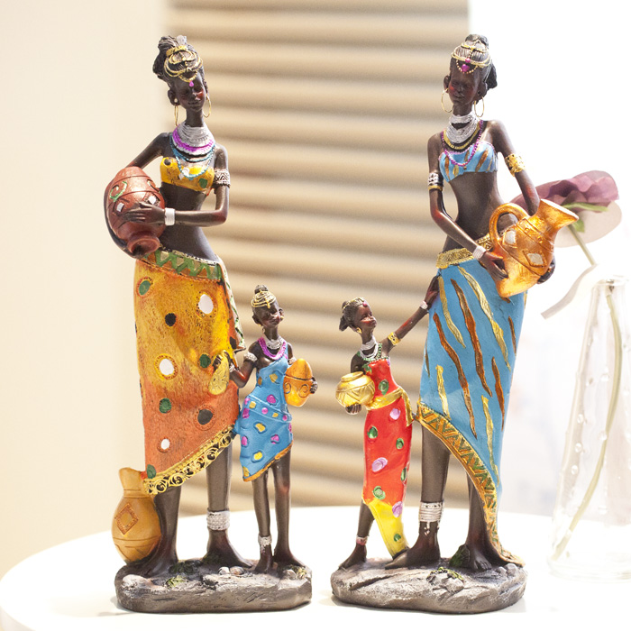 Buy Creative African Ornaments Home Decoration Living Room Ornaments Crafts Room Decorations Ornaments Retro Soft Decorations In Cheap Price On M Alibaba Com