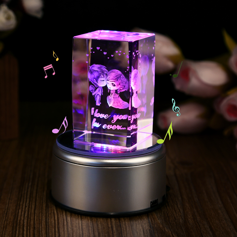 Buy Creative And Practical Birthday Gift Ideas Girls Diy Custom Valentines Day Gift Crystal Ornaments To Send His Girlfriend Girlfriends Gifts In Cheap Price On Alibaba Com