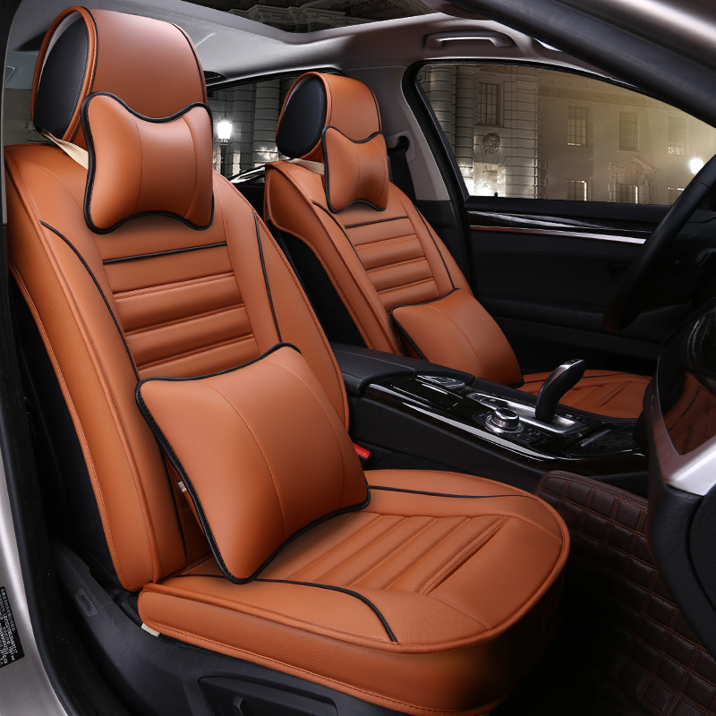 Stupendous Buy Custom Pvc Leather Full Surround Car Seat Cover New Cjindustries Chair Design For Home Cjindustriesco