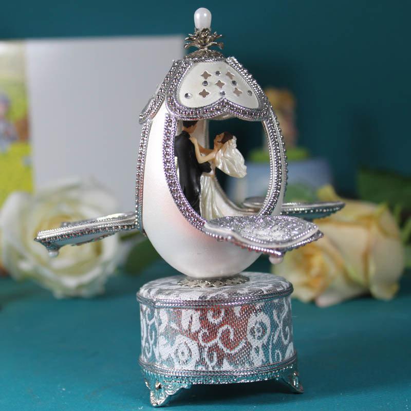 Buy Dance Of Love Egg Carving Music Box Music Box Gift Ideas