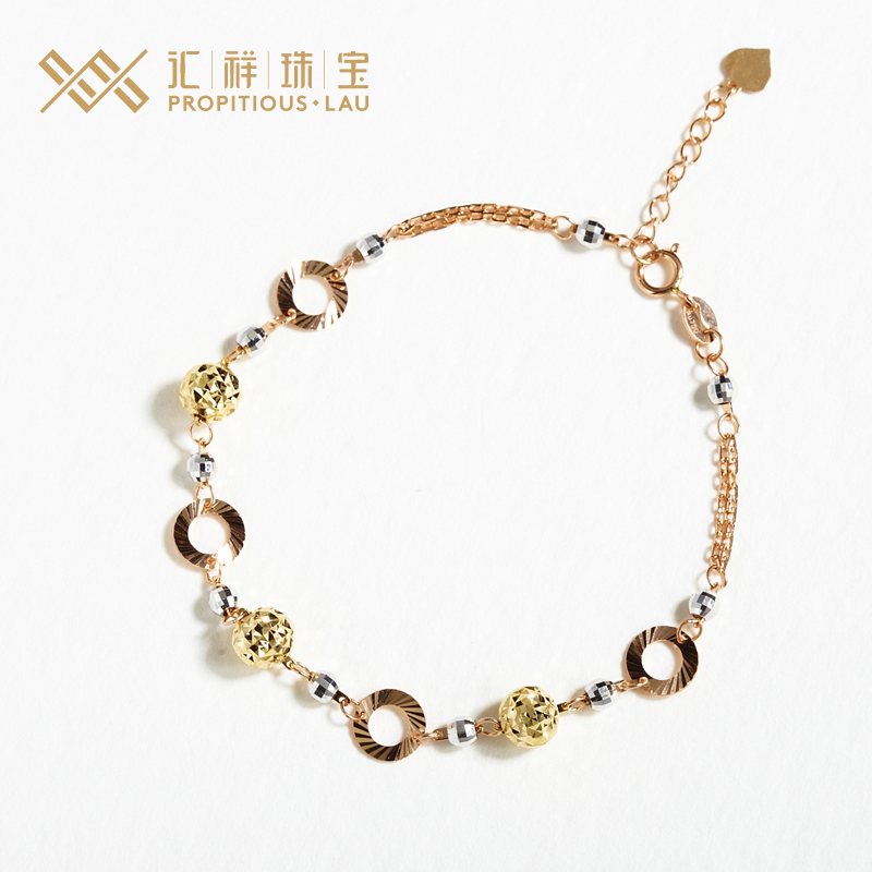 e77cea70f Buy Department of cheung jewelry gold jewelry exquisite bracelet female  models k gold bracelet bracelet bracelet women counter genuine in Cheap  Price on ...