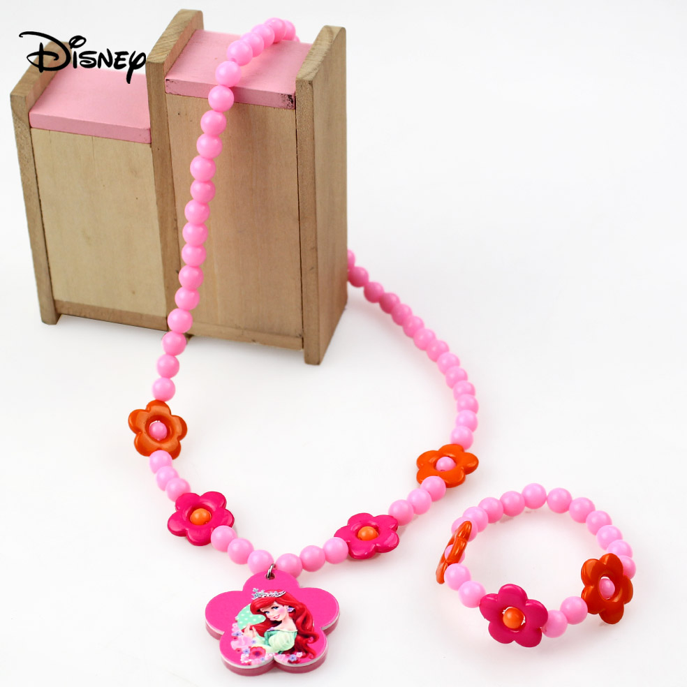 Recommended For You Disney Children S Necklace Bracelet Set Baby Princess Jewelry