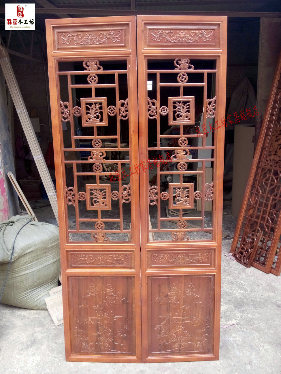 Buy Dongyang wood carving chinese antique wood doors dongyang wood carving antique  doors and windows off screen porch lattice in Cheap Price on m.alibaba. ... - Buy Dongyang Wood Carving Chinese Antique Wood Doors Dongyang Wood