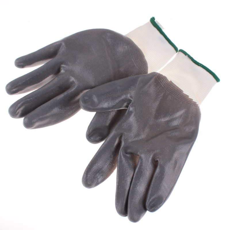 Effective Tool Palm Dipped Latex Gloves Handling