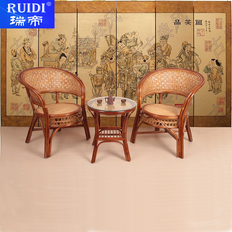 Buy Elderly Men Casual Outdoor Furniture Balcony Chairs Rattan Chair
