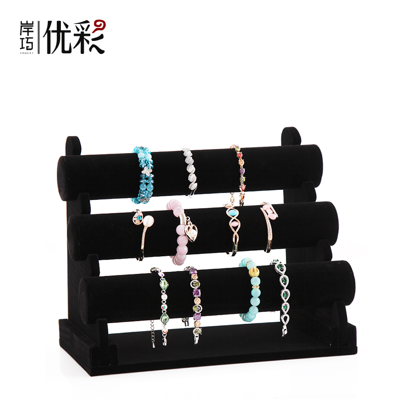 Excellent Color Quality Suede Bracelets Display Bangle Bracelet Holder Jewelry Stand Rack Head Flower Tousheng In Price On M Alibaba