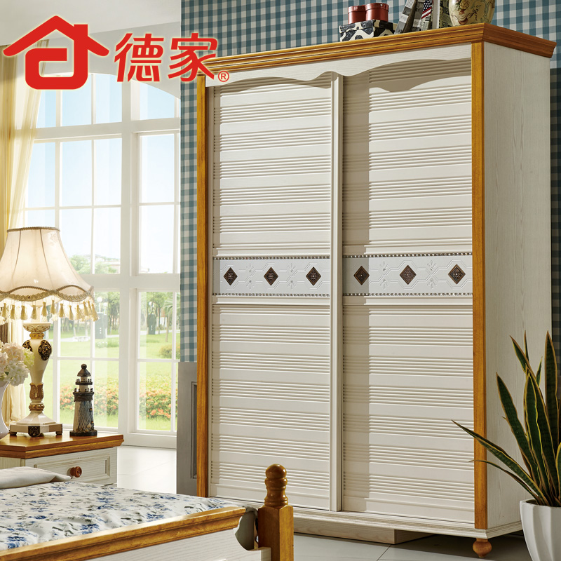 Buy German Furniture 2 Mediterranean Countryside Wood Sliding Door Wardrobe  Sliding Door Wardrobe Bedroom Wardrobe Sliding Door Wardrobe In Cheap Price  On ...