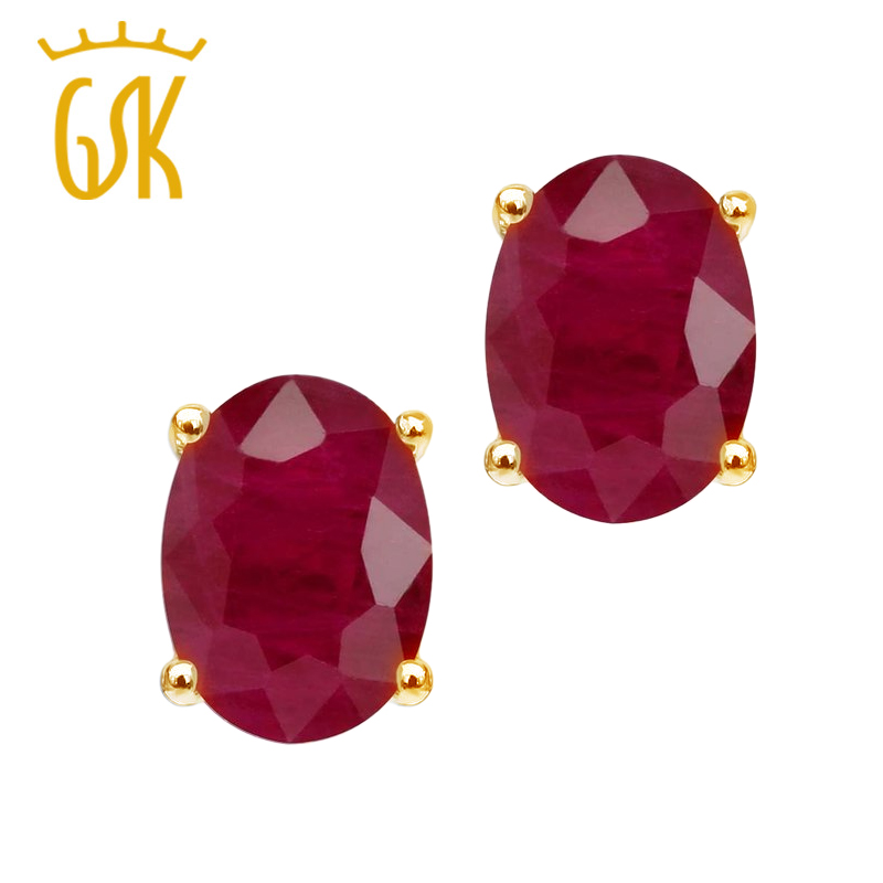 com alibaba on color t buy platinum cheap pic treasure gsk guide item price gold karat in m stone natural ruby oval earrings shop