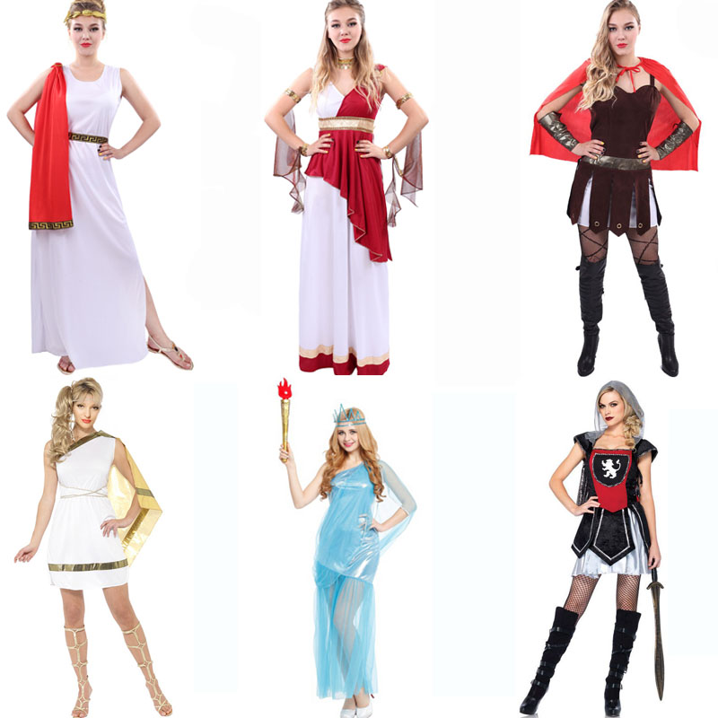 bbe992b7d2b Buy Halloween costumes female sparda ancient roman soldiers cos dance clothes  adult female roman warrior costume in Cheap Price on m.alibaba.com