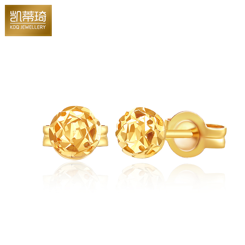 5a8623333 Buy Hello kitty kay jewelry k gold platinum rose gold earrings gold  earrings female models earrings earrings simple models sven in Cheap Price  on m.alibaba. ...