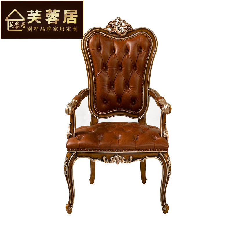 Beau Buy Hibiscus Habitat Neoclassical Furniture Dining Chair Wood Carved Dining Chairs  Chair Lounge Chair Continental Hotel Club Villa In Cheap Price On ...