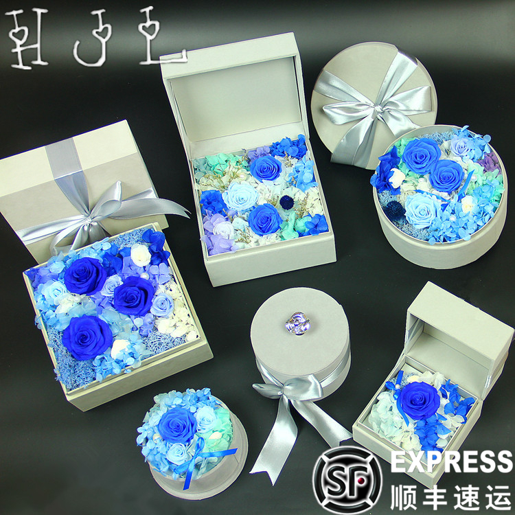Buy Imported Flower Preservation Preserved Gift Box Of Roses Valentine39s Upscale Wedding Birthday Ideas For Christmas Gifts In Cheap Price
